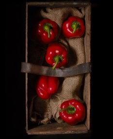 Dark Box- Red Peppers