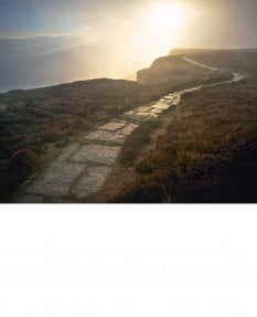 Cleveland Way, Hasty Bank, sunrise