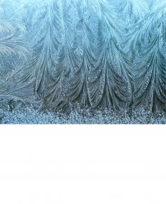 Frost on glass 2