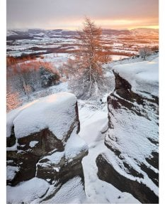 Easby moor, winter