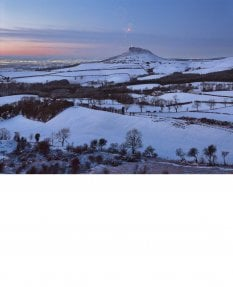Roseberry Topping, New Year's Eve, Tees Valley and beyond