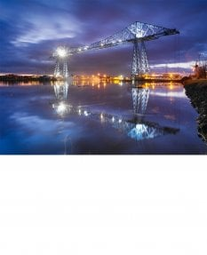 Nocturne, Transporter Bridge