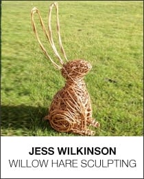 Willow Hare Sculpting with Jess Wilkinson
