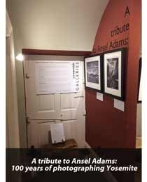 A Tribute to Ansel Adams Exhibition